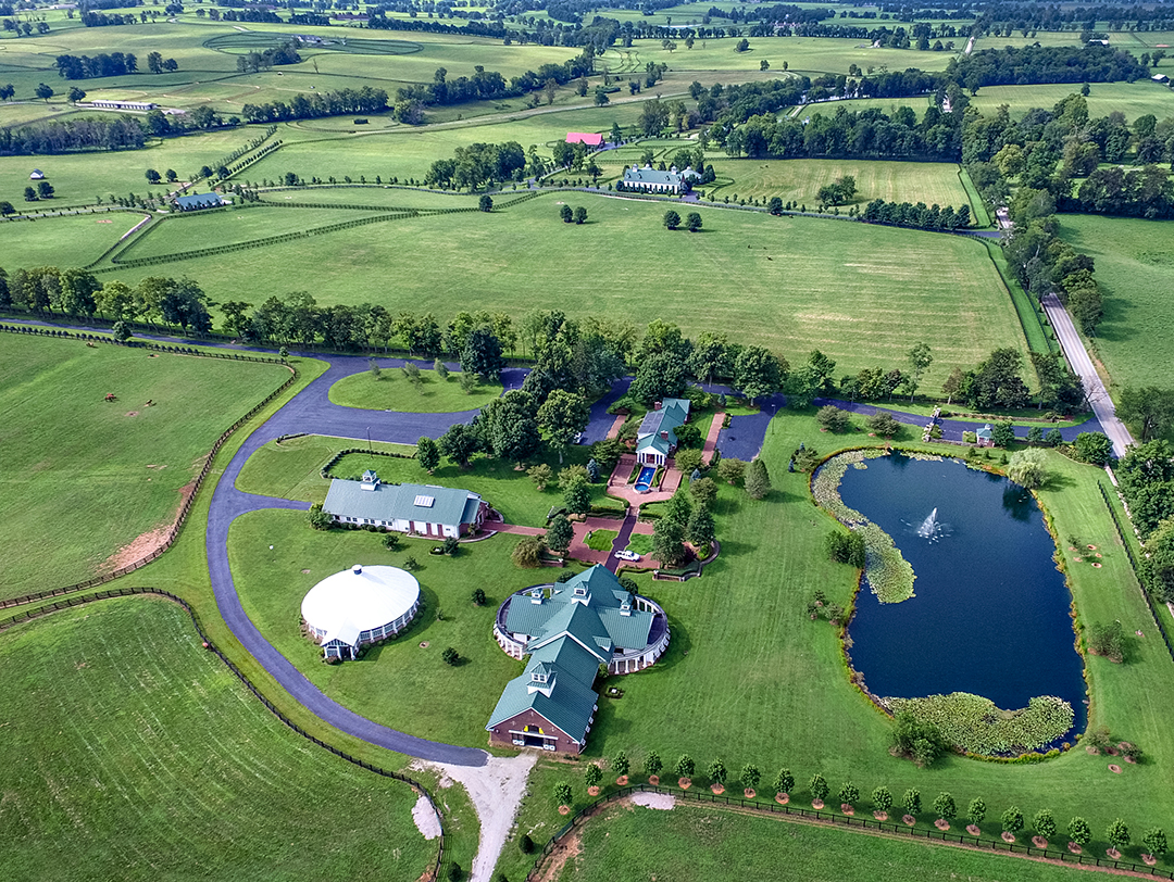 The Breeding Facilities Stonewall Farm Versailles Kentucky