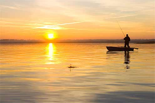 Stonewall Farm has many wonderful fishing opportunities located on the property and close by.
